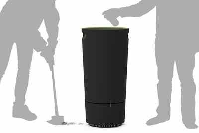 垃圾桶,创意,科技生活,智能厨卫