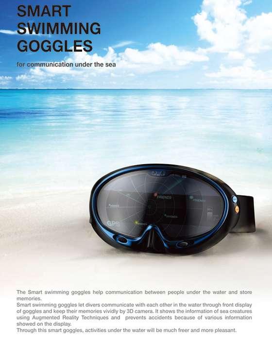 智能潜水眼镜,让精彩不再错过