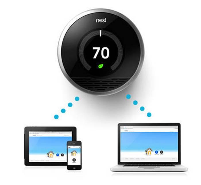 nest智能温控器具备自学习社交互动