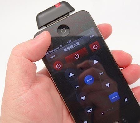 能将iPhone手机化成万能红外遥控器之Voomote Zapper深度评测