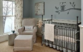【四维装修】:宝宝的起居要用心,婴儿房间的设计与布置