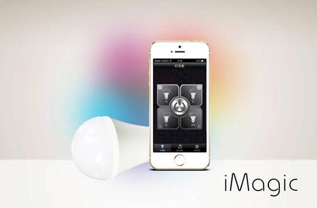 魔灯 iMagic不用wifi也智能,要走亲民路线 让灯光的魔力与智慧营造家居小环境