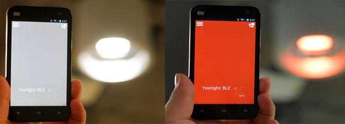 Yeelink 蓝牙4.0智能灯泡Yeelight Blue产品深度评测
