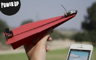 迫不及待想放飞自己,PowerUp3.0成为iPhone控的最酷纸飞机