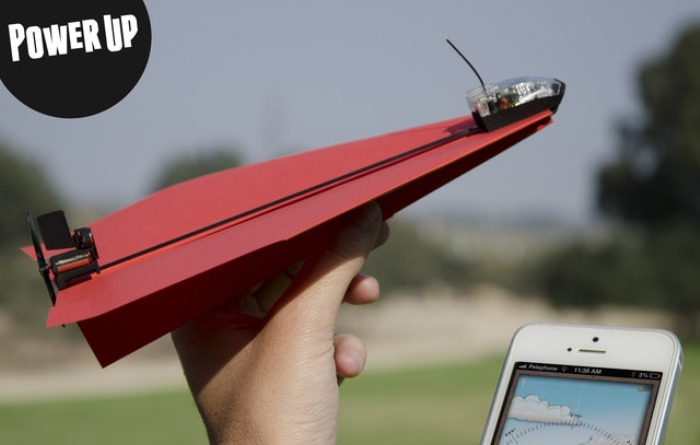 PowerUp3.0成为iPhone控的最酷纸飞机