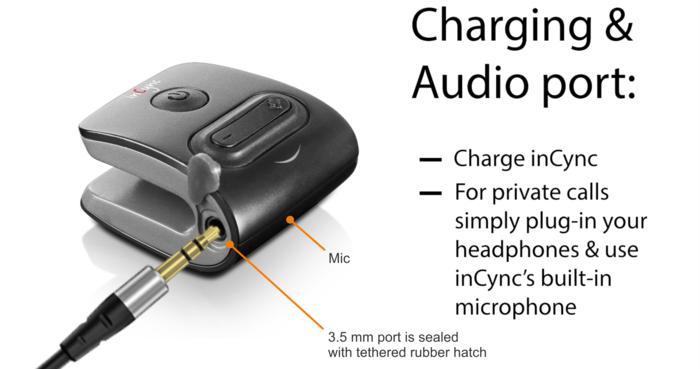 不同一般的inCync便携蓝牙音箱随您安放使用