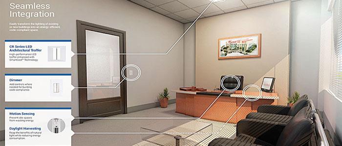 SmartCast智能灯控系统能感知人和环境而决定合适亮度