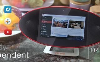 蓝牙、WiFi双通道,Auris Wily成为全球首款Android系统触摸屏移动音箱