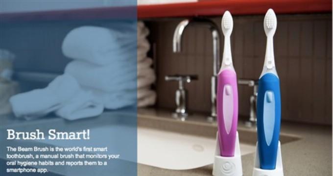 Beam Toothbrush智能牙刷能记录刷牙数据并与手机同步