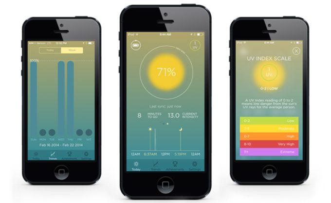 SunSprite可穿戴太阳能跟踪器能够追踪阳光,调节心情