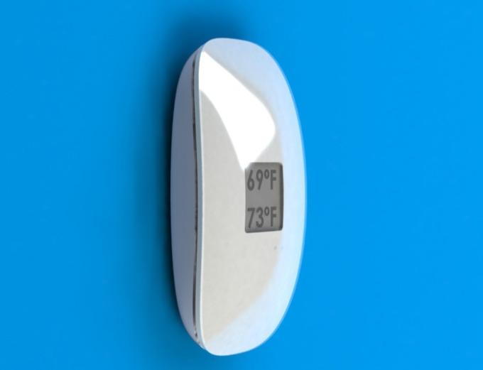 微智能温控器Kumostat能学习用户习惯自动调节温度