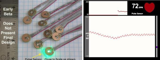 Pulse Sensor一个令人心动的开源心率传感器
