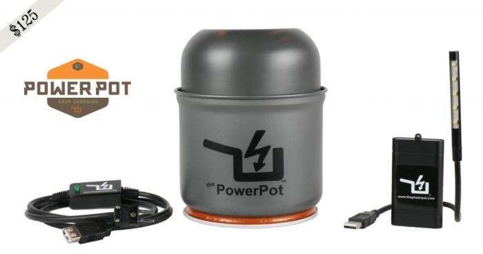 神奇的PowerPot热水壶,能给手机充电