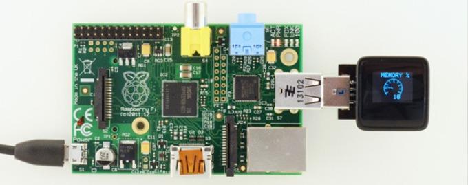 芯片般大小的MicroView模块竟然内置OLED显示