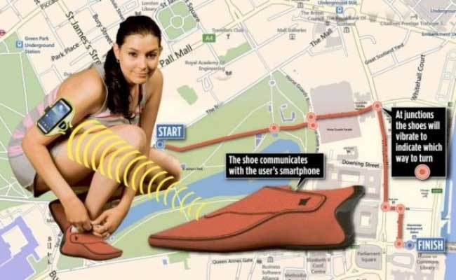 """Lechal智能鞋通过振动告诉你该往哪个方向拐,实现""""足部导航"""""""