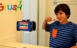 刷出一个爽来,Grush智能牙刷能边刷牙边玩游戏