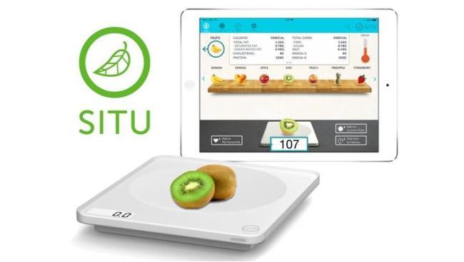 SITU智能秤能够看清食物的营养信息