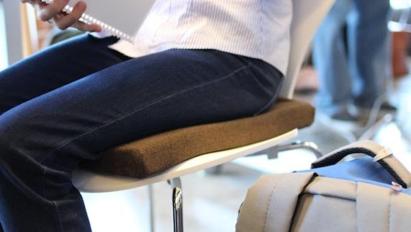智能坐垫Darma可检测你的心率/呼吸/坐姿