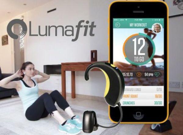 智能耳戴设备Lumafit能追踪您的身心运动质量和专注度