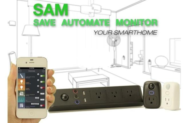 SAM智能插座能够扩展感知家居温度、亮度等环境变化