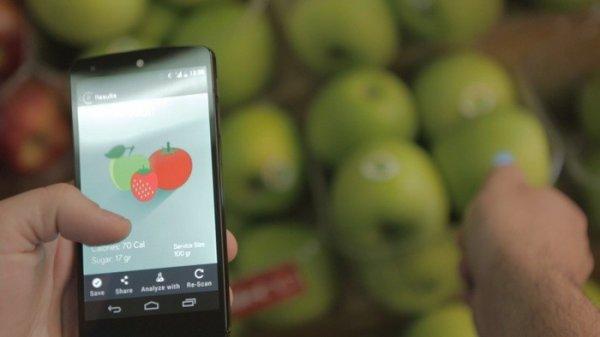 SCiO智能手持扫描仪可以检测食物和药物成份