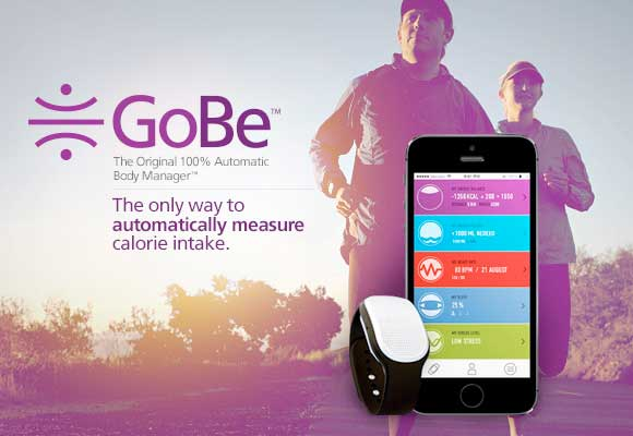 GoBe智能腕带可以通过无创形式来测量用户的血糖值