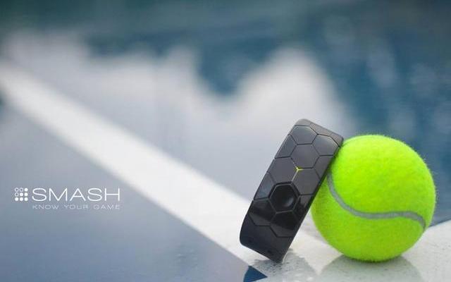 "Smash网球运动手环能""私练""帮你提高球技"