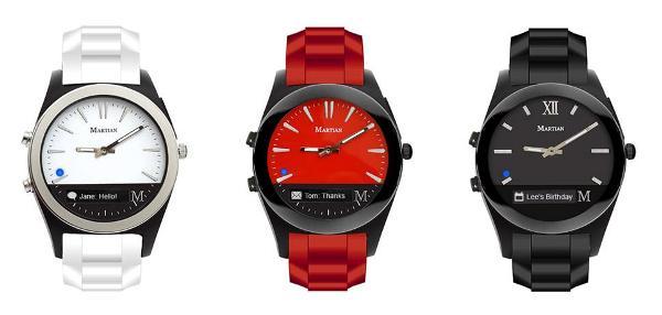 Martian Notifier就是最像传统手表的智能手表