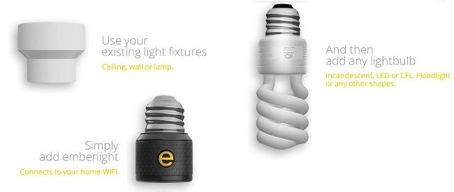 Emberlight智能灯座让智能没有门槛