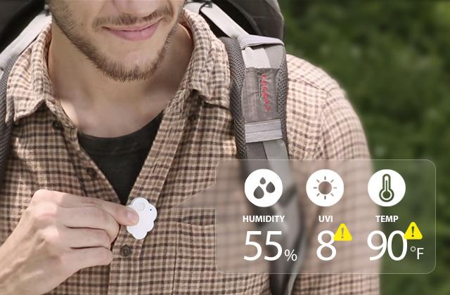 CliMate或成为最可爱的蓝牙环境追踪设备