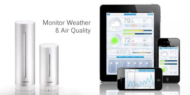 Netatmo让你的iPhone成为环境监测器