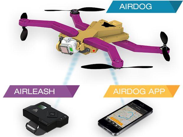 AirDog成为GoPro相机专备的飞行器