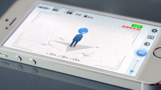六轴飞行器HEXO+能够自动跟拍生活
