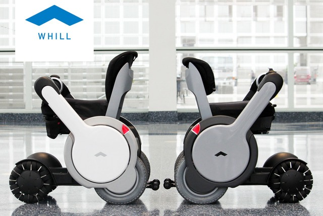Whill号称世界最先进的个人移动装置