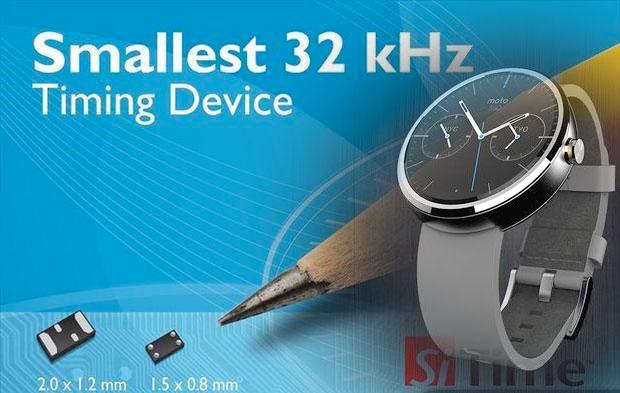 硅晶振领导者SiTime 推出32 kHz MEMS 挺进可穿戴、物联网市场