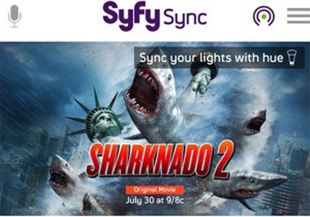Syfy Sync让Hue智能照明融入电影情节,灯光随情节变换颜色