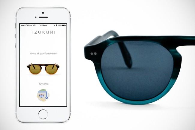 Tzukuri智能太阳镜能反过来追踪自己智能手机所在的位置