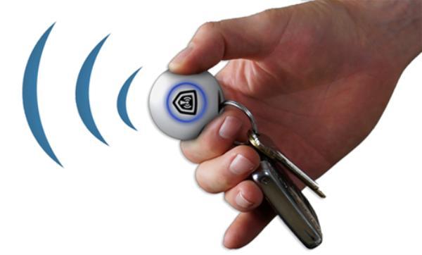 Silent Beacon钥匙扣有望成为安全守护神