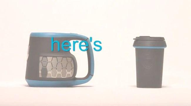 Dubstein智能水杯又是个蓝牙无线音箱