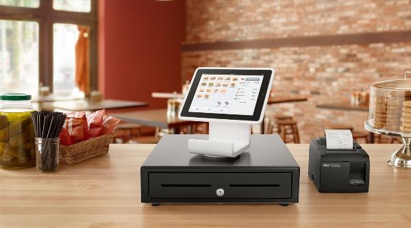 Square Stand就让 iPad 变身为 POS 收款机