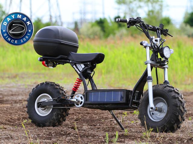 炫酷的Beast电动自行车能在何种地面畅通行驶