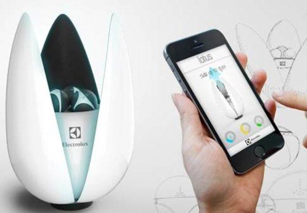 微智能Lotus便携式智能空气净化器成为生活必须