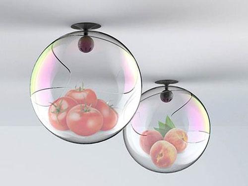 U-Bubble可自动漂浮的概念气泡冰箱
