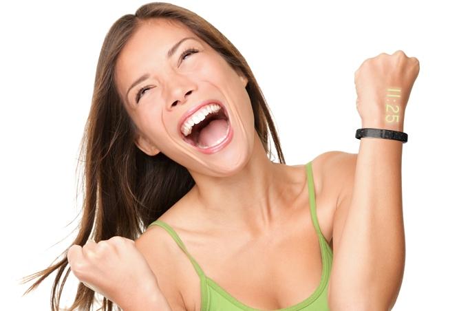 智能手表Ritot款能在皮肤上显示时间