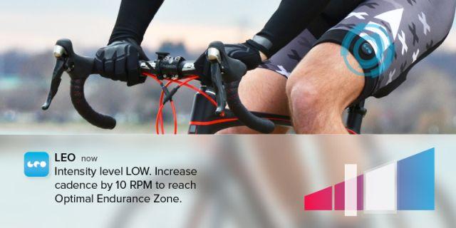 LEO智能腿带能助你了解自己的身体状况