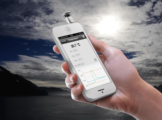 Skywatch Windoo成为钥匙链上的迷你气象台