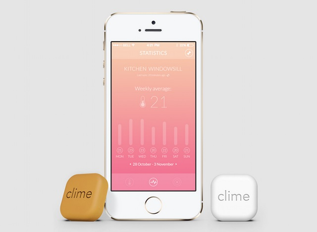 低价Clime传感器有望成为人人可用的家居生活小帮手
