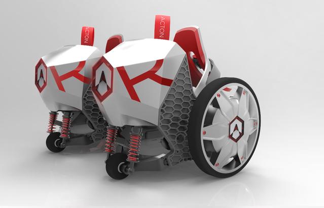 智能风火轮ACTON R Rocketskates套上鞋子就能上路