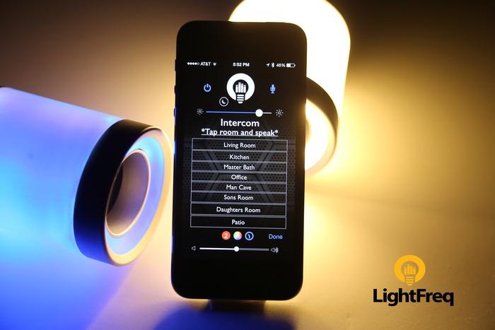 LightFreq 智能灯泡亮出气氛还能播放音乐