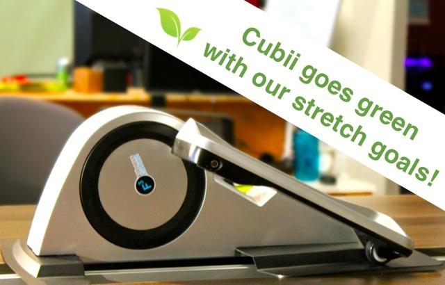 置于桌下的Cubii能让主人坐着也可锻炼
